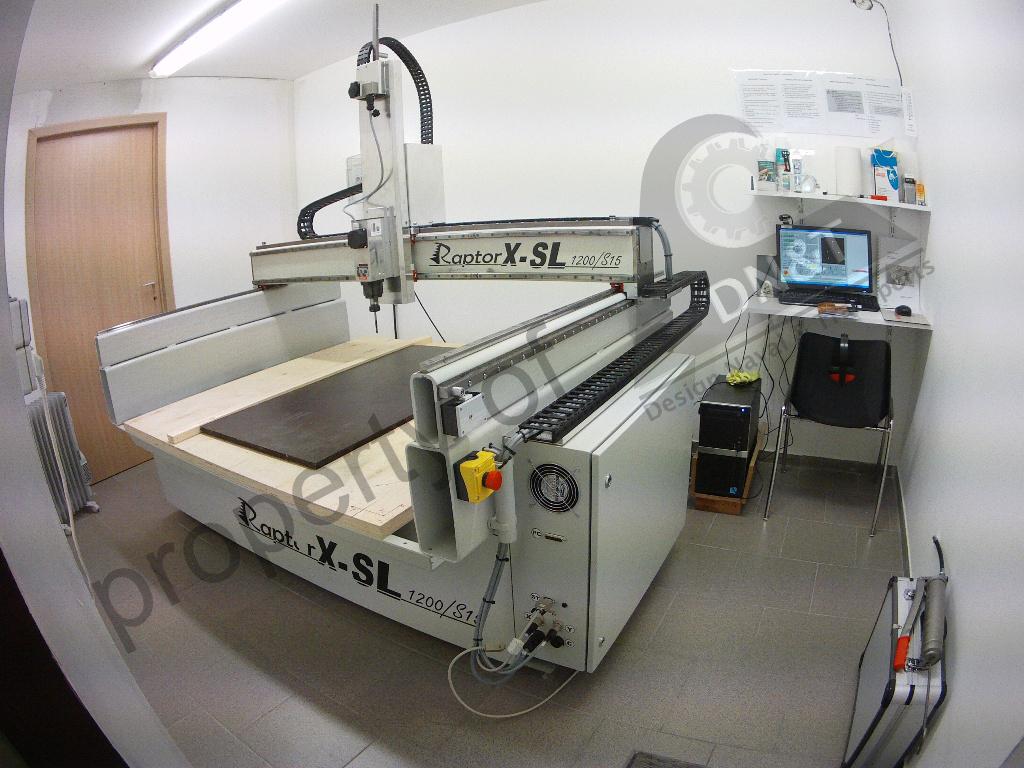 New digital milling machine